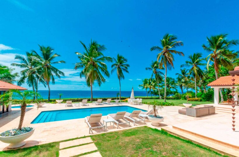 Ocean Front Villa for Rent In Casa de Campo